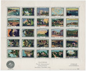 (I.B) US Cinderella : California Pacific Exposition (San Diego 1935)