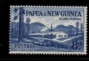 Papua New Guinea 143 1960 8d Klinki Plymill  stamp mint NH
