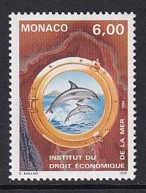 Monaco  #1907    MNH  1994   preservation of the sea