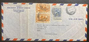 1947 Addis Ababa Ethiopia Airmail Commercial Cover To Brno Czechoslovakia