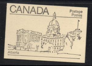 Canada Sc 940,944,945 1982  cpl booklet  USC#BK82  mint NH Alberta cover