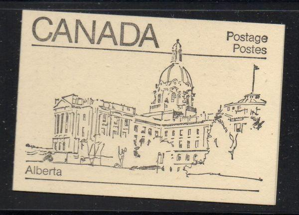Canada Sc 940,944,945 1982  cpl booklet  USC#BK82  mint NH Alberta cover