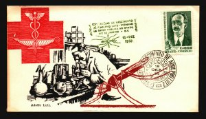 Brazil 1955 Adolfo Luts FDC / Nice Cachet / UA - L3639