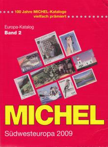 Michel Südwesteuropa 2009, Band 2, Lightly used catalog, much info not in Scott