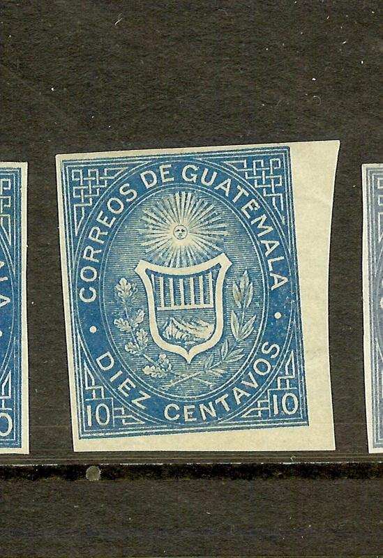 GUATEMALA  (P1807B) SC3C IMPERF SINGLE  MOG  COPY 1