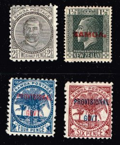 WESTERN SAMOA STAMP  MINT STAMP COLLECTION LOT