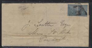 CAPE OF GOOD HOPE (P2810B)  1866  4D PR TO CRADOCK, B/S