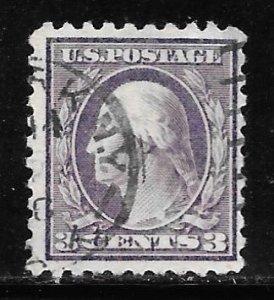 USA 464: 3c Washington, Type I, used, F-VF