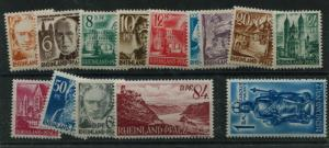 GERMANY   6N16-29   MNH  COMPLETE SET