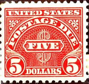 U.S. #J78 MINT Disturbed OG LH