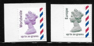 Great Britain 2010 Air post stamps MNH A2050