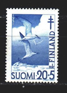 Finland. 1951. 398 from the series. Seagull, birds, fauna. MNH.