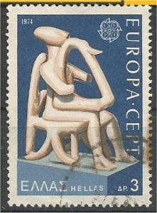 GREECE, 1974, used 3d, Europa Scott 1109
