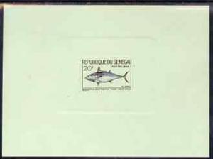 Senegal 1966 Mackeral Tuna 20f de-luxe die proof in issue...