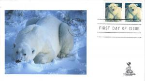 Polar Bear FDC, #1, from Toad Hall Covers!