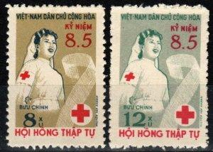 Vietnam #124-5 F-VF Unused CV $3.50  (X7746)