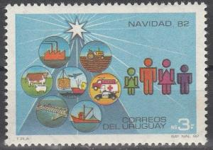 Uruguay #1134  MNH F-VF (V4253)
