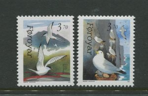 STAMP STATION PERTH Faroe Is.#224-225 Pictorial Definitive Iss.MNH 1991 CV$3.00