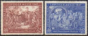 Germany (Allied Occupation) 1947 Leipzig Spring Fair MH