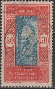 Dahomey 1926: Sc. # 66; O/Used Single Stamp