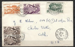 St. Pierre & Miquelon (France) - 1952 Commercial Cover to USA - Ships Fish