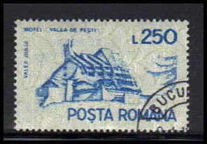 Romania Used Fine D37104