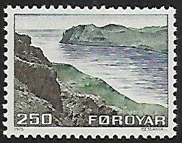 Faroe Islands # 16 - Streymoy & Vagar - MNH