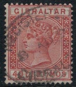 Gibraltar #33  CV $4.25