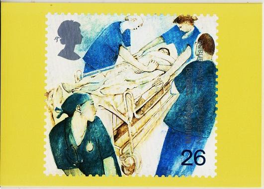 Great Britain. 1999 Patients Tale. PHQ Cards(4) Unused
