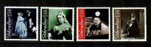 Gibraltar 2001   Queen Victoria Set  - # 860-863 MNH