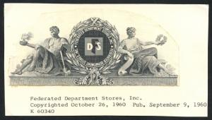 FEDERATED DEPT STORES INC -- UNIQUE -- VIGNETTE DIE PROOF BT3606