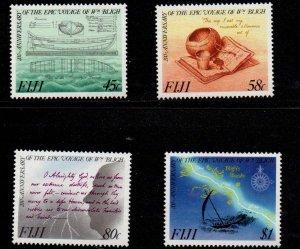 Fiji Sc 603-06 1989 Capt Bligh Voyage stamp set mint NH