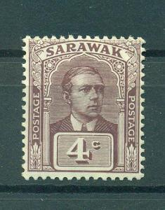Sarawak sc# 56 mh cat value $1.75