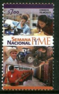 MEXICO 2724, NATIONAL WEEK OF SMALL & MEDIUM ENTERPRISES. MINT, NH. VF.