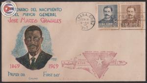 Cuba 1952 Scott 471-472   First Day Cover   CU10173