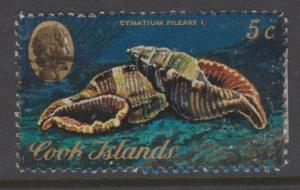 Cook Islands Sc#387 Used