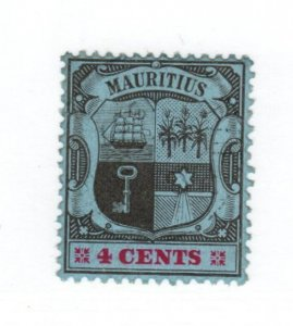 Mauritius #131 MH - CAT VALUE $15.00