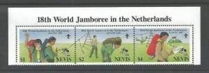 1995 Nevis Boy Scout Jamboree Netherlands strip