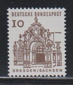 Germany,  10pf Wall pavilion (SC# 903) MNH