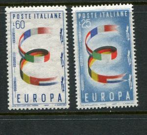 Italy #726-7 Mint (Box2)