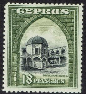 CYPRUS 1934 BUYUK KHAN 18PI