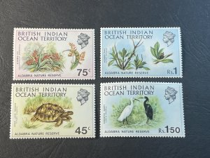 BR.INDIAN OCEAN TERRITORY # 39-42--MINT NEVER/HINGED----COMPLETE SET----1971
