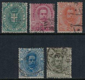 Italy #67-71  CV $24.75