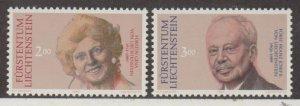 Liechtenstein Scott #928-929 Stamps - Mint NH Set