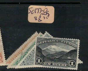 Ecuador SC 177-80 MOG (8ebv)