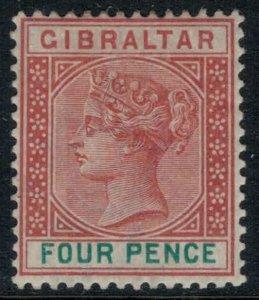 Gibraltar #17*  CV $21.00