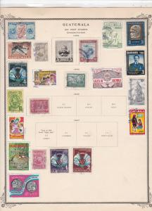 guatemala stamps page ref 17208
