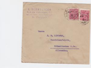 Brasil ST Paulo 1924  stamps cover  R20300