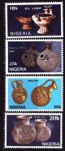 Nigeria. 1990. 547-50. Nigerian pottery. MNH.