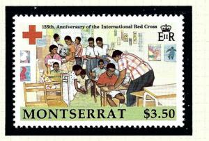 Montserrat 702 MNH 1988 Red Cross